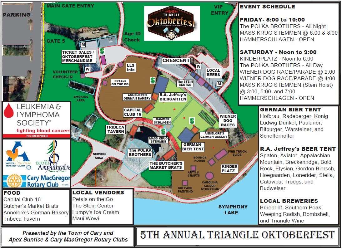 TOF - Venue Map